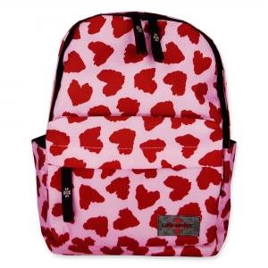 Life Spirit Backpack Red Heart (Pink)
