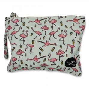 Small pouch Flamingo