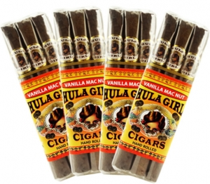 Hula Girl Vanilla Mac Nut Cigars