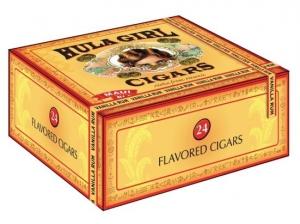 Hula Girl Vanilla Rum Cigars Box of 24