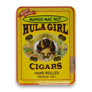 Hula Girl Mango Mac Nut Cigars in Tin