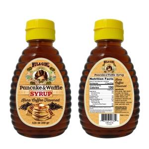 Hula Girl Pancake and Waffle Syrup