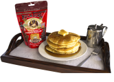 Hula Girl Kona Coffee Chocolate Chips Pancake and Waffle Mix