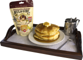 Hula Girl Chocolate & Banana Premium Pancake and Waffle Mix