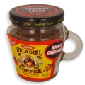"Hula Girl 10% Kona Blend Freeze Dried Instant Coffee ""Double Chocolate"" Jar with Handle (40g)"