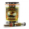 Tub of 25 Mango Macadamia Nut Volcano Cigars