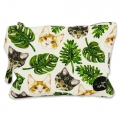 Small pouch Cats and Leaves