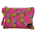 Small pouch Pink Pineapple