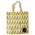 Eco Tote Bag Banana Pattern