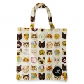 Eco Tote Bag Cats and Desserts