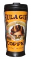 Hula Girl Black Travel Mug with box