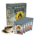 Hula Girl 10% Kona Drip Coffee Box of 5