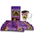 Hula Girl 10% Kona Vanilla MacNut Freeze Dried Instant Coffee (Box of 12 Sachets)