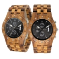 Handmade Wooden Watch Made with Asian Koa Wood and Mango Wood  # 11A-BF