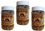 Hula Girl Dark Soft Ginger Candy