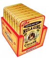 Hula Girl Kona Coffee Mac Nut Small Cigar Box of 7 Tins with 8 Mini Cigars Each