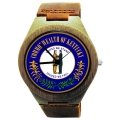 Handmade Wooden Watch Made with Natural Bamboo Wood with State of Kentucky Seal
