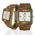 Handmade Wooden Watch Made with Zebra Wood