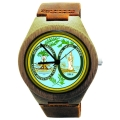 Kahala Wooden Watch Made with Natural Bamboo Wood with State of South Carolina Seal