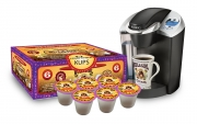 Hula Girl 10% Kona Vanilla Flavored Coffee Box of 6 K-Kups