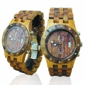 Handmade Wooden Watch Made with Mango and Acacia Koa Wood - Kahala Brand # 11-B