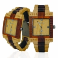 Handmade Wooden Watch Made with Maple and Acasia Koa Wood - Kahala Brand # 3