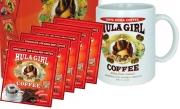 Hula Girl Chocolate 10% Kona Drip Coffee Pack of 50 Sachets