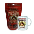 Hula Girl 10% Kona Coffee Blend Chocolate Macadamia Nut 5oz