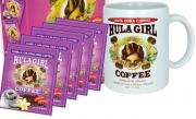 Hula Girl Vanilla 10% Kona Drip Coffee Pack of 50 Sachets